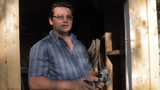 MAXIMUM 20V Max Impact Driver - Don's Testimonial - image 9 from the video