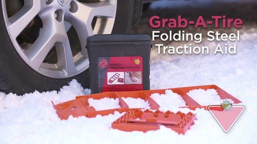 Folding Steel Traction Aid - image 1 from the video