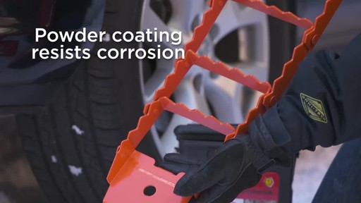 Folding Steel Traction Aid - image 5 from the video