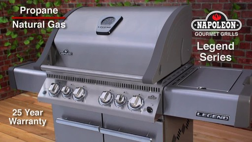 Napoleon Legend RSIB Barbecue   - image 10 from the video