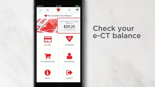 Canadian Tire App - image 4 from the video