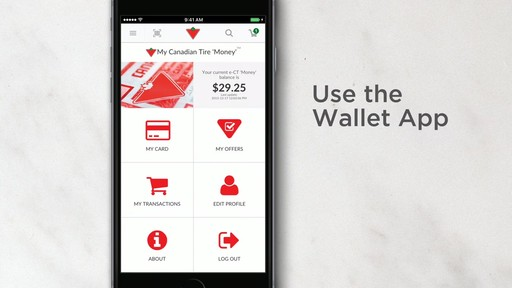 Canadian Tire App - image 5 from the video