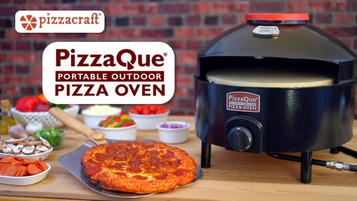 PizzaQue Propane Pizza Oven - image 10 from the video