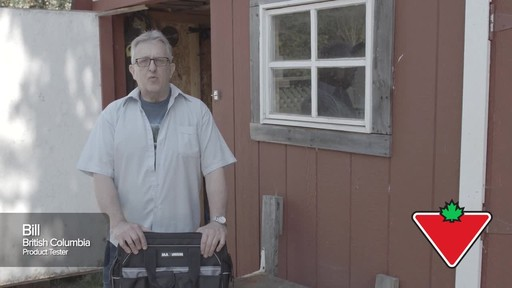 MAXIMUM Large Mouth Tool Bag - Bill's Testimonial - image 1 from the video
