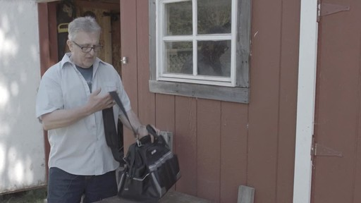 MAXIMUM Large Mouth Tool Bag - Bill's Testimonial - image 10 from the video