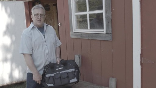 MAXIMUM Large Mouth Tool Bag - Bill's Testimonial - image 5 from the video