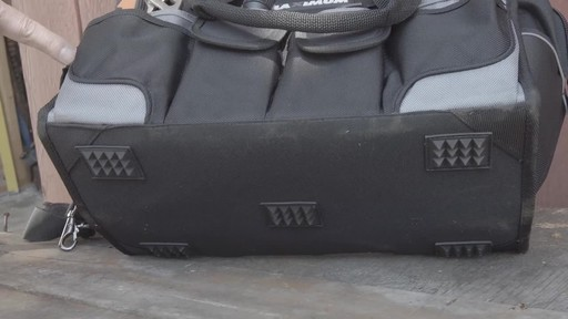 MAXIMUM Large Mouth Tool Bag - Bill's Testimonial - image 8 from the video