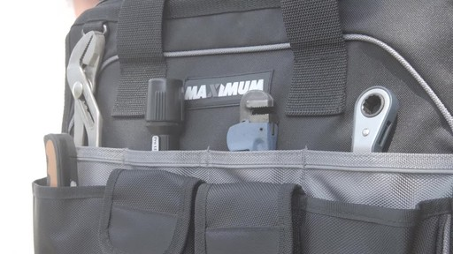 MAXIMUM Large Mouth Tool Bag - Bill's Testimonial - image 9 from the video