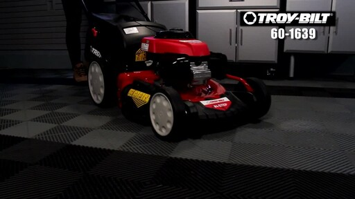 Troy-Bilt 160cc Smart Speed Lawn Mower - image 1 from the video