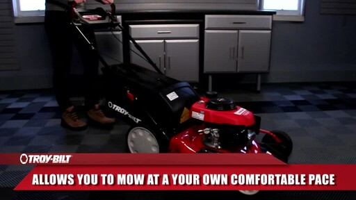 Troy-Bilt 160cc Smart Speed Lawn Mower - image 2 from the video