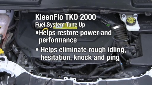 Kleen-Flo TKO 2000 Fuel System - image 7 from the video