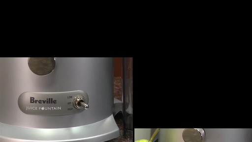 Breville Juice Fountain Plus - image 2 from the video
