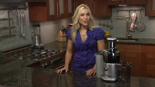 Breville Juice Fountain Plus - image 7 from the video