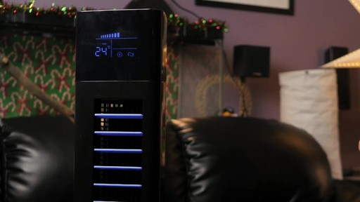 NOMA Direct Current Tower Fan - Mike's Testimonial - image 2 from the video