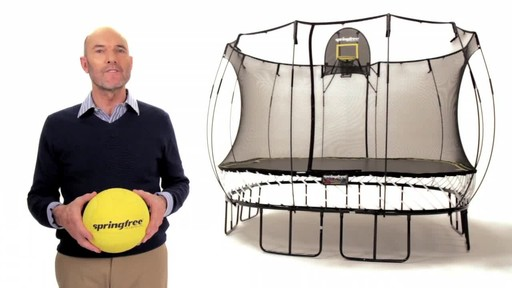 Springfree Trampoline FlexrHoop - image 9 from the video