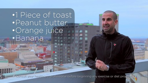Healthy Breakfast Tips - Fitness Tips from Canadian Tire - image 8 from the video