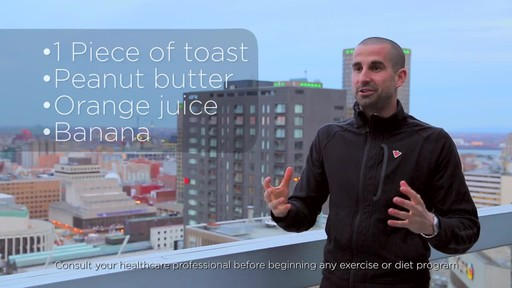 Healthy Breakfast Tips - Fitness Tips from Canadian Tire - image 9 from the video