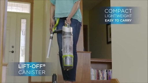 BISSELL PowerGlide CORDLESS™ Upright Vacuum - image 7 from the video