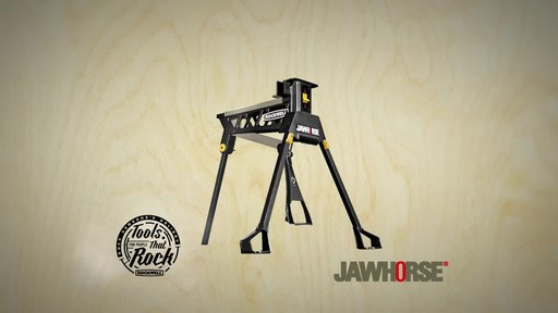 Rockwell Jawhorse, 37-in - image 10 from the video