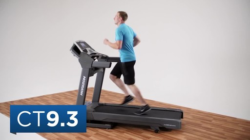 Horizon CT9.3 Treadmill - image 2 from the video