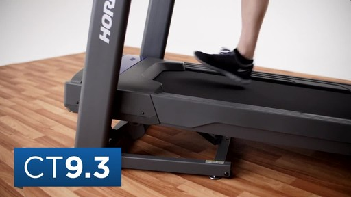 Horizon CT9.3 Treadmill - image 3 from the video
