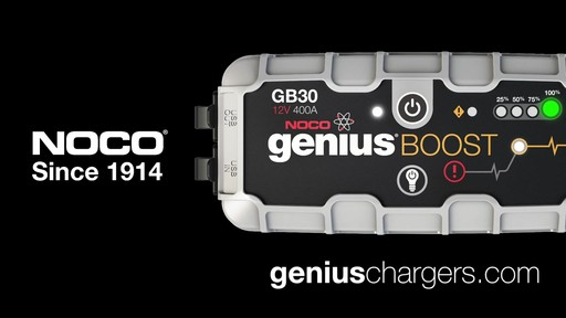Powerful: NOCO Genius Boost, Lithium Ion Jump Starter - image 10 from the video