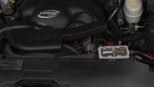 Powerful: NOCO Genius Boost, Lithium Ion Jump Starter - image 7 from the video