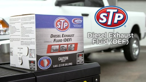 STP Diesel Exhaust Fluid - image 1 from the video