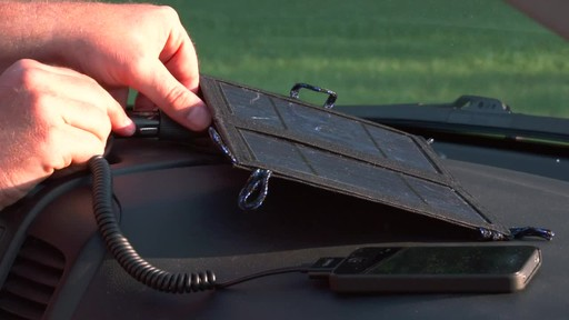 Coleman 7.5 Watt Folding Solar Charger - image 5 from the video