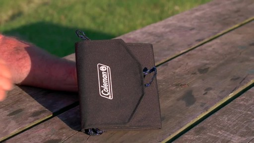 Coleman 7.5 Watt Folding Solar Charger - image 9 from the video