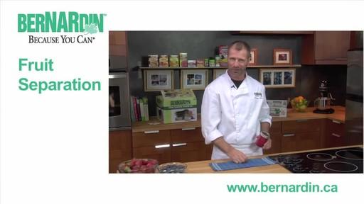 Fruit Seperation - Bernardin - image 1 from the video