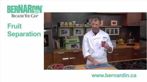 Fruit Seperation - Bernardin - image 2 from the video