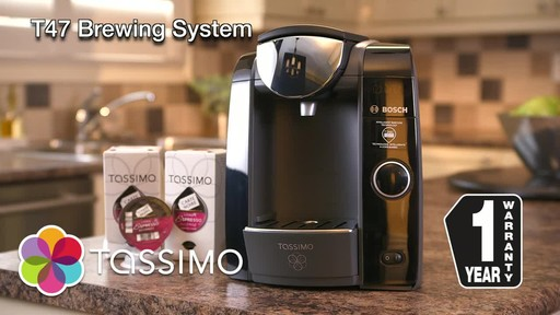 Tassimo Coffee Maker Canadian Tire : Tassimo T47 Brewing System English Canadian Tire