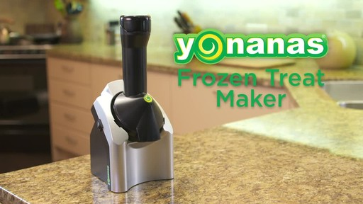 Yonanas Frozen Treat Maker - image 1 from the video