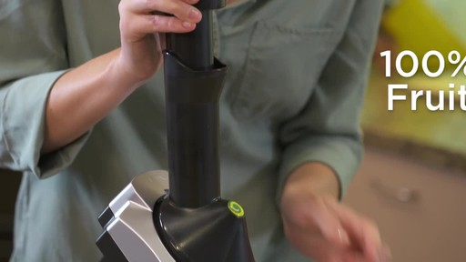 Yonanas Frozen Treat Maker - image 2 from the video