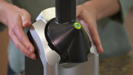 Yonanas Frozen Treat Maker - image 3 from the video