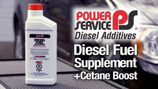 Power Services Diesel Fuel Supplement Cetane Boost - image 1 from the video