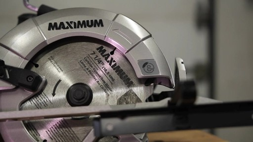 MAXIMUM 15A Circular Saw with E-Brake - Francis' Testimonial - image 2 from the video