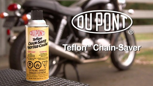 Dupont Chain Saver Lubricant, 11 oz - image 1 from the video