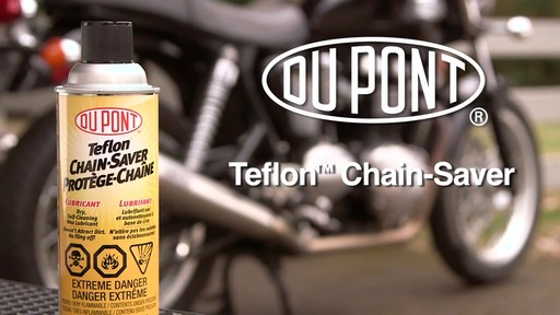 Dupont Chain Saver Lubricant, 11 oz - image 10 from the video