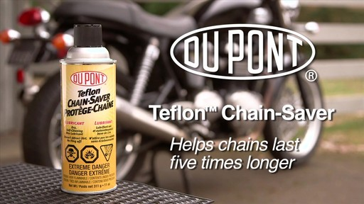 Dupont Chain Saver Lubricant, 11 oz - image 2 from the video