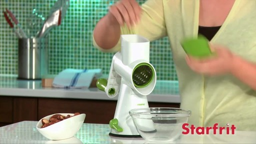 Starfrit Drum Grater - image 1 from the video