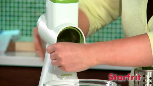 Starfrit Drum Grater - image 5 from the video