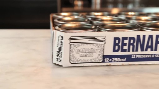 Bernardin Wide Mouth Mason Jars, 250 ml - image 6 from the video