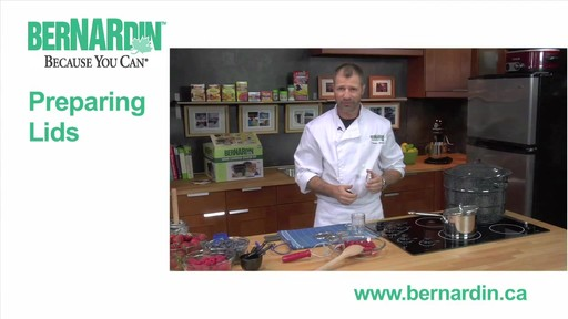 Preparing Lids - Bernardin - image 1 from the video