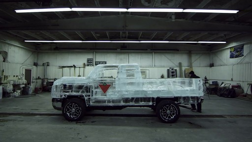 Melt Video of the Canadian Tire Ice Truck (Extended) - image 9 from the video