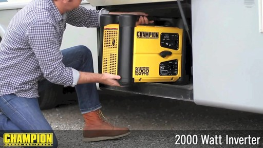 Champion 2000W Inverter Generator - image 1 from the video
