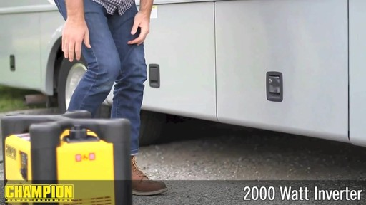 Champion 2000W Inverter Generator - image 2 from the video