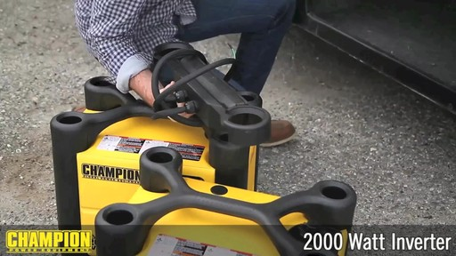 Champion 2000W Inverter Generator - image 9 from the video