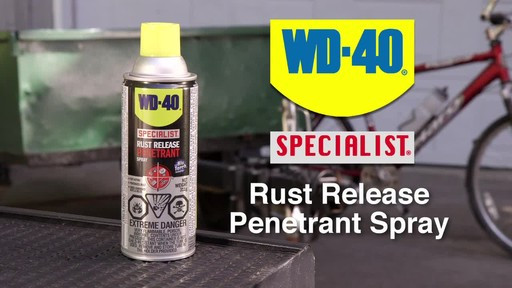 WD-40 Specialist Rust Release Penetrant Spray - image 1 from the video